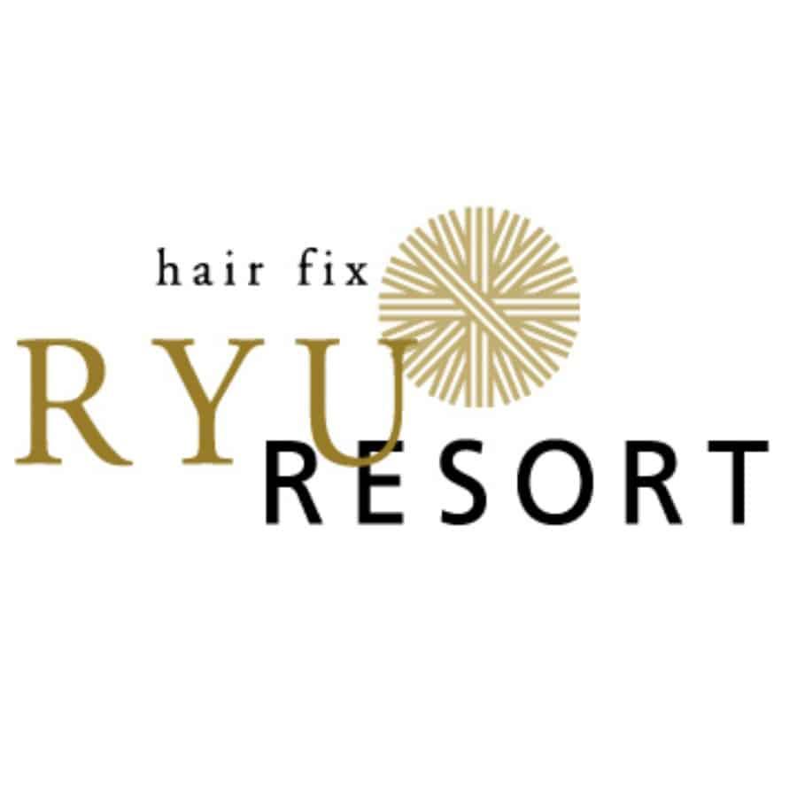 美容室hair fix RYU Resortロゴ画像
