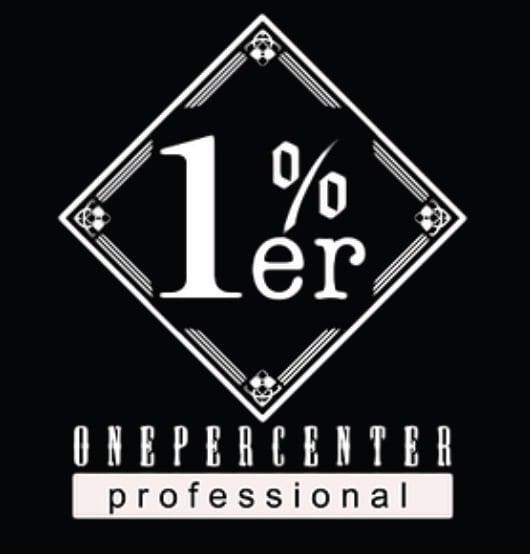 美容室1%er professionalロゴ画像