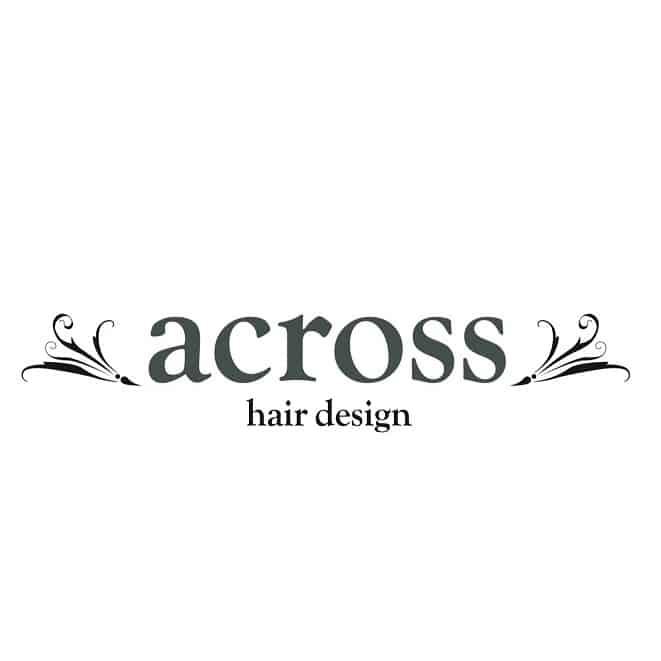 美容室across hair design 武蔵小杉店ロゴ画像