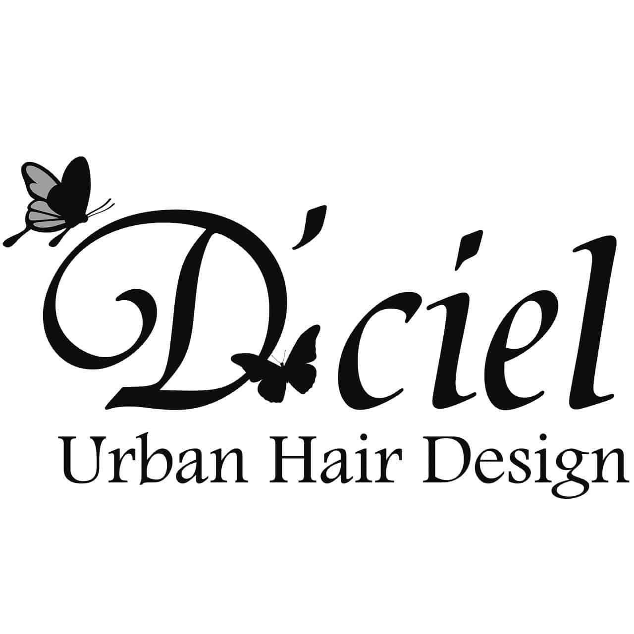 美容室D'ciel Urban Hair Designロゴ画像