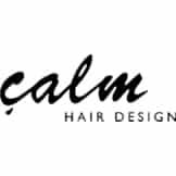 calm HAIR DESIGNロゴ画像