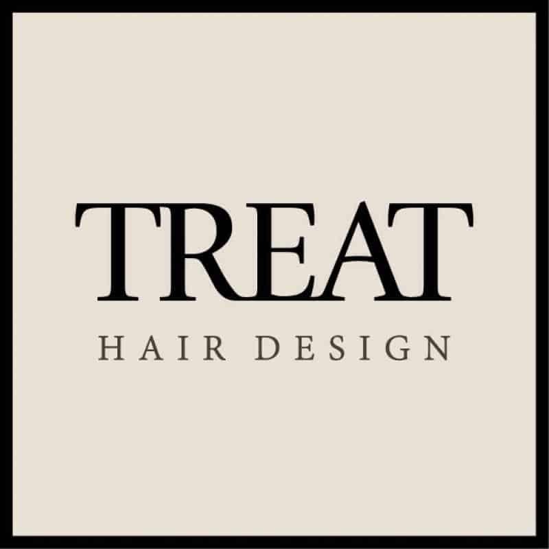 美容室TREAT HAIR DESIGNロゴ画像