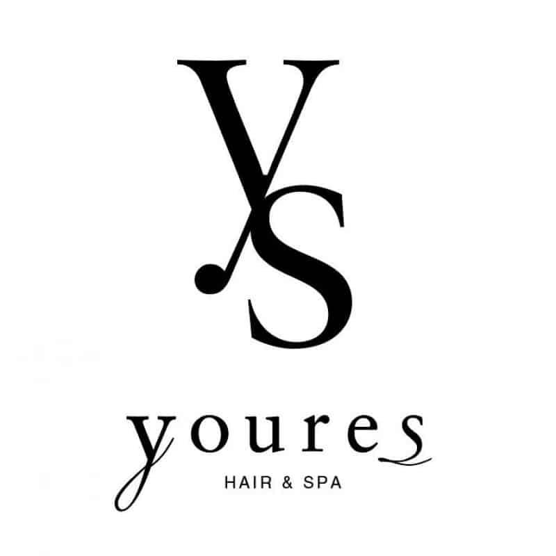 美容室youres hairロゴ画像