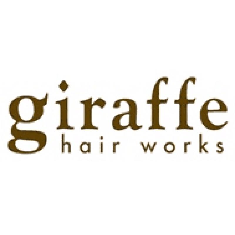 美容室giraffe hairworksロゴ画像