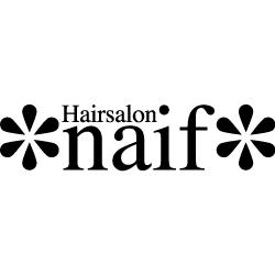 美容室Hairsalon naifロゴ画像