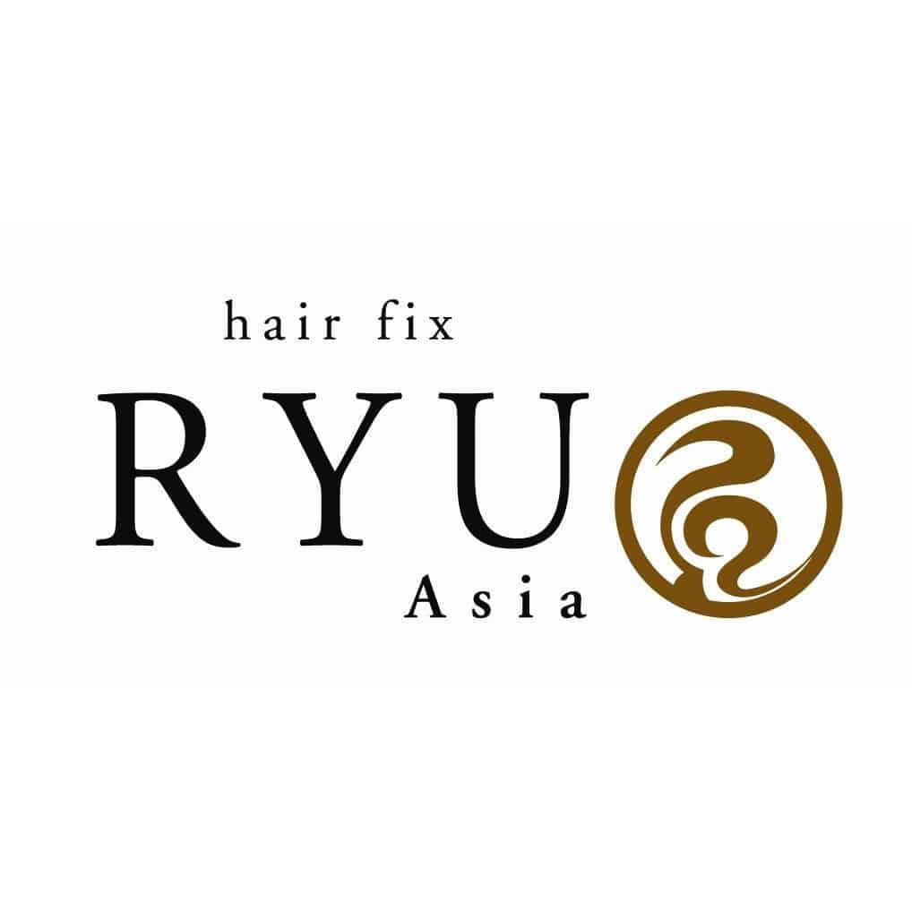 美容室hair fix RYU Asiaロゴ画像