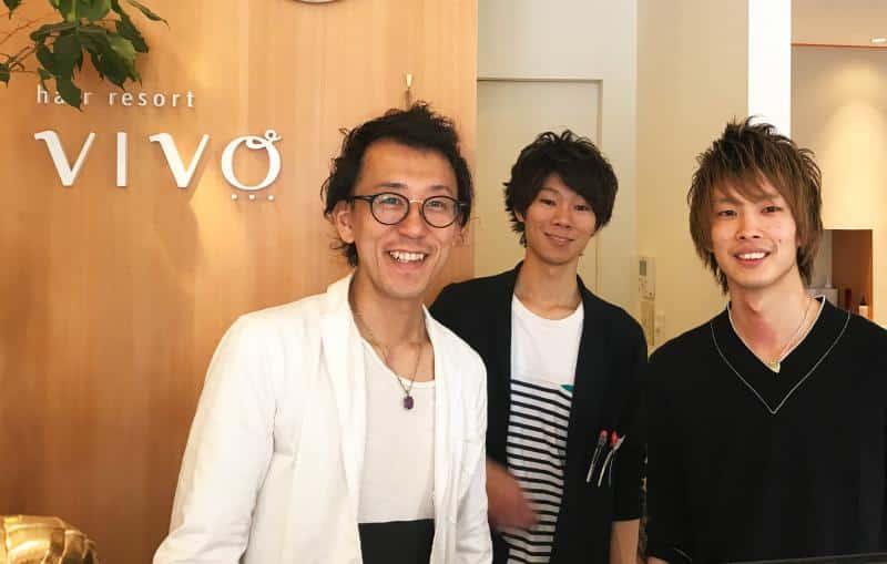 hair resort VIVO求人画像