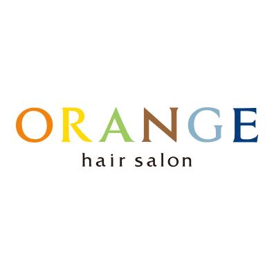 美容室ORANGEロゴ画像
