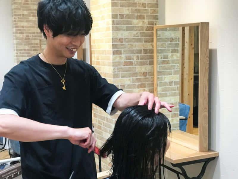 美容室across hair design 武蔵小杉店求人画像