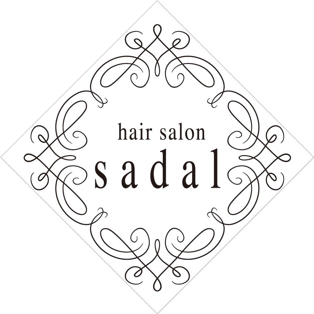 美容室hair salon sadalロゴ画像