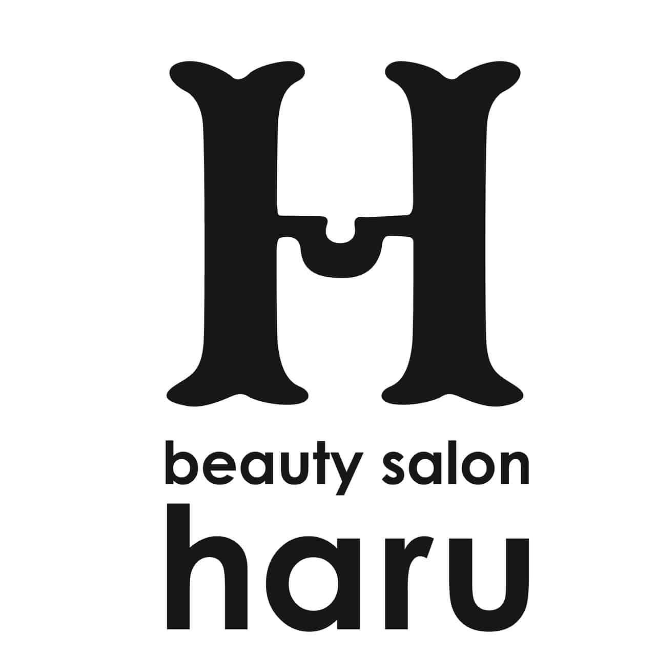 beauty salon haruロゴ画像