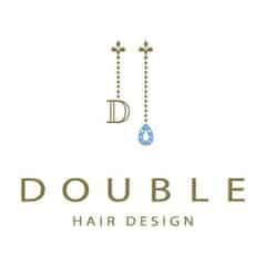美容室DOUBLE HAIR DESIGNロゴ画像