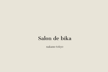 美容室SALON DE bikaロゴ画像