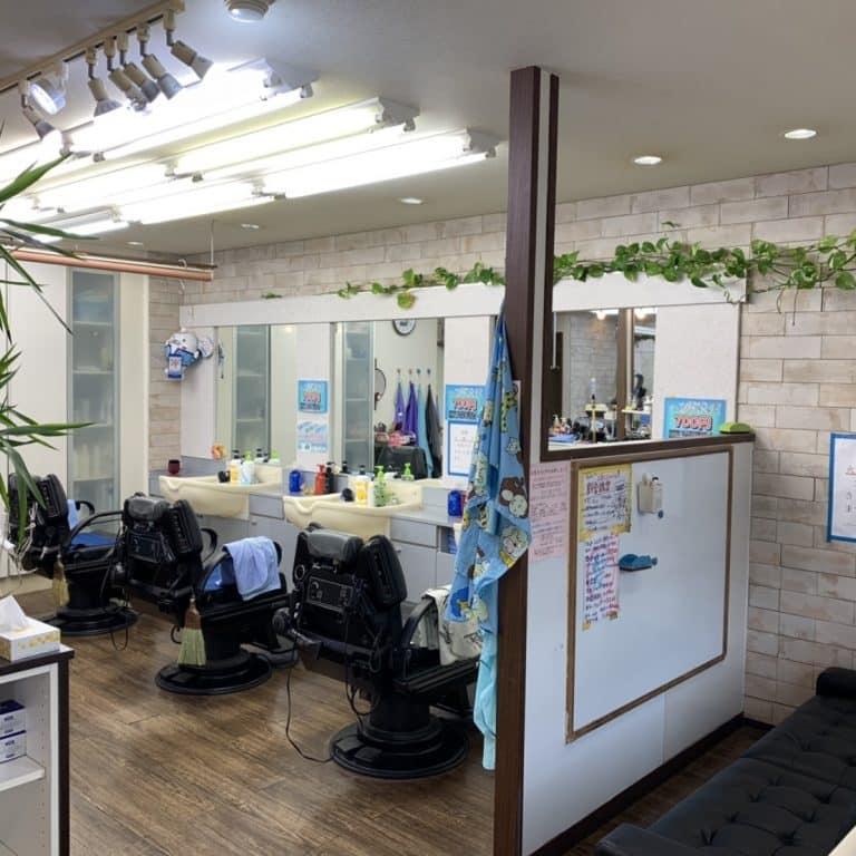 美容室Hair Salon Lucky求人画像