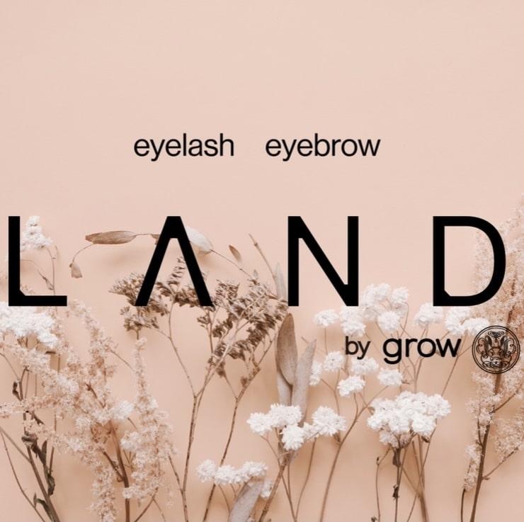 美容室Land by growロゴ画像