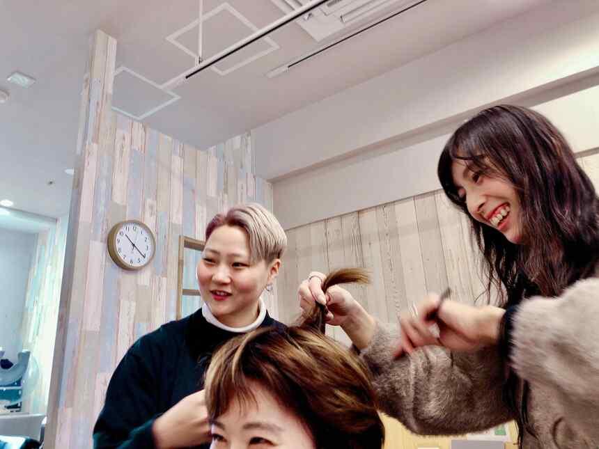 美容室giraffe hairworks求人画像