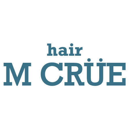 美容室hair M CRUEロゴ画像