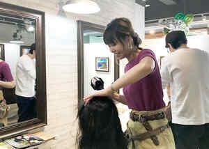 美容室across hair design求人画像