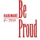 美容室Be Proudロゴ画像
