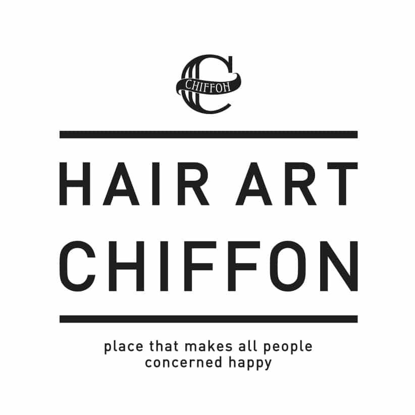 美容室eHair art chiffonロゴ画像