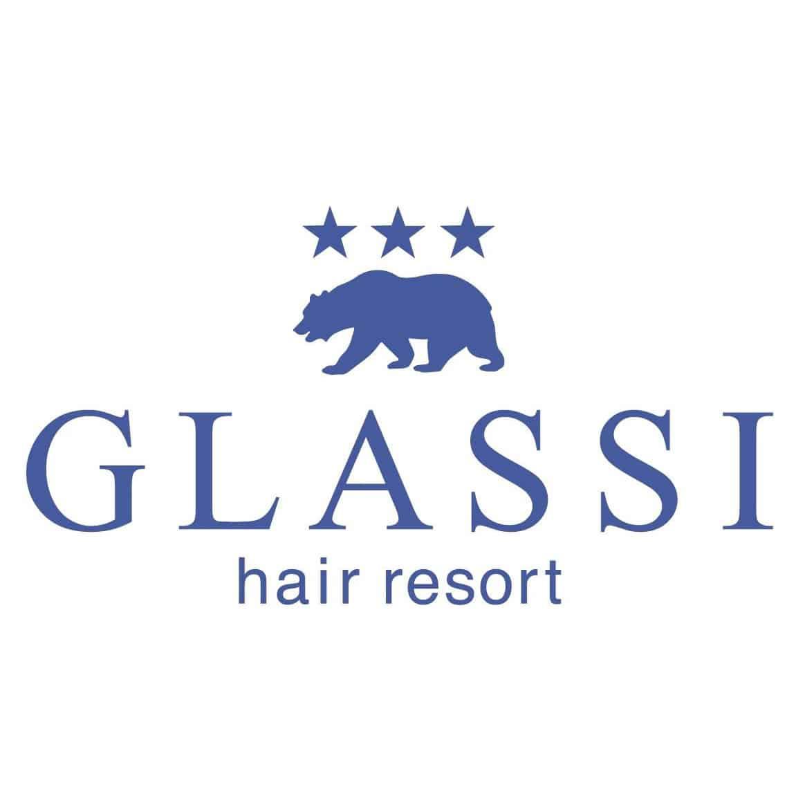 美容室GLASSIロゴ画像