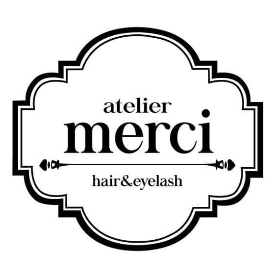 美容室atelier merciロゴ画像