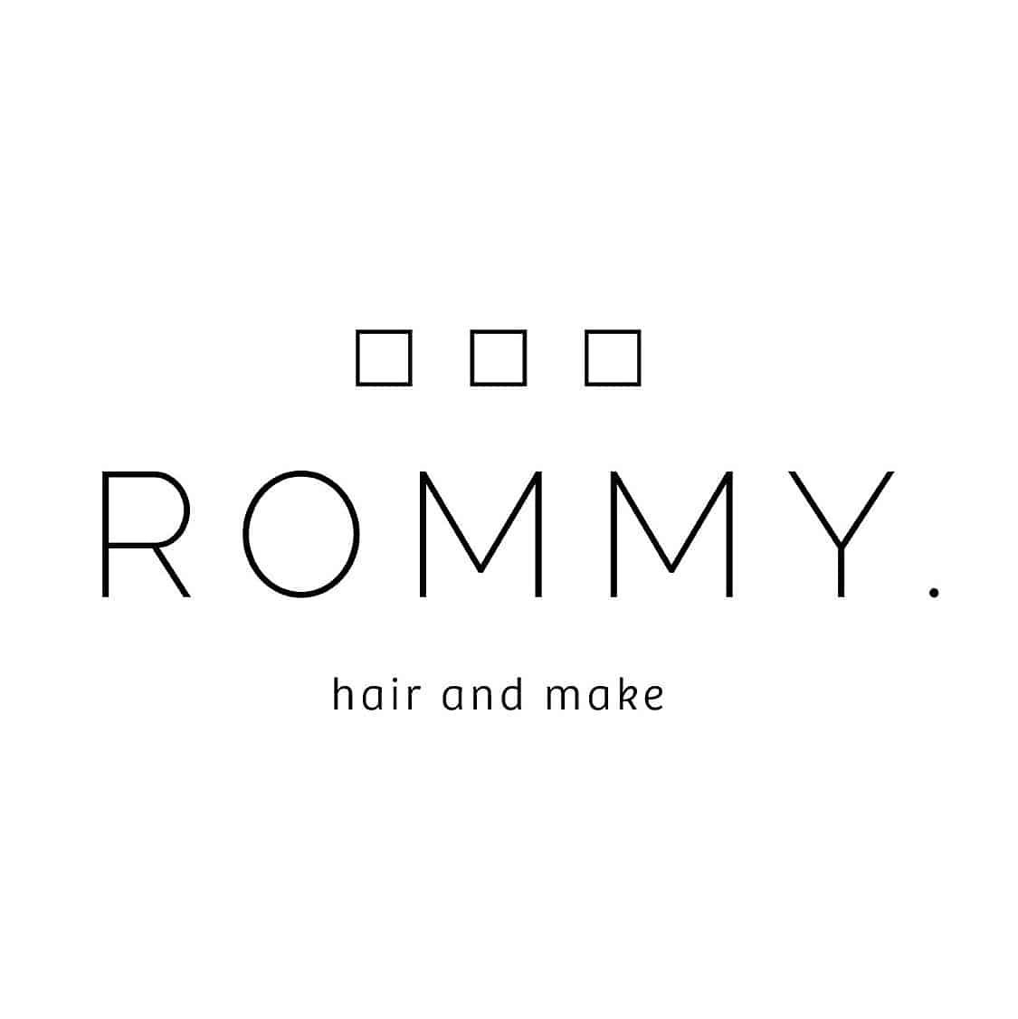 美容室ROMMY.ロゴ画像