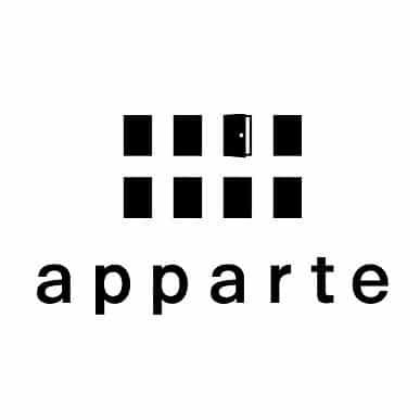 美容室apparteロゴ画像