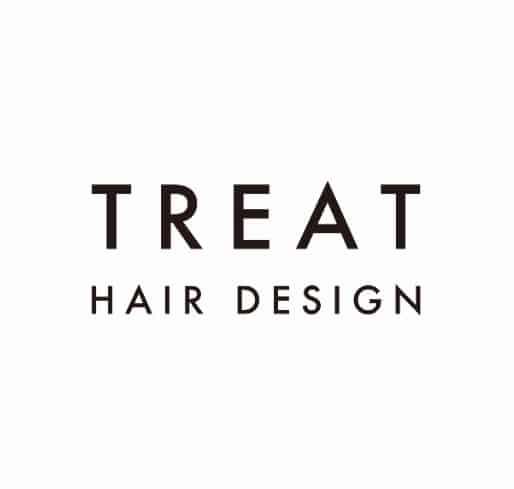 美容室TREAT HAIR DESIGN 浦安店ロゴ画像