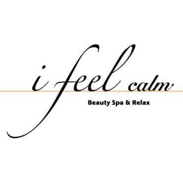 美容室i feel calmロゴ画像