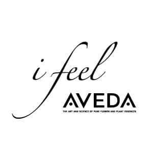 美容室i feel AVEDAロゴ画像
