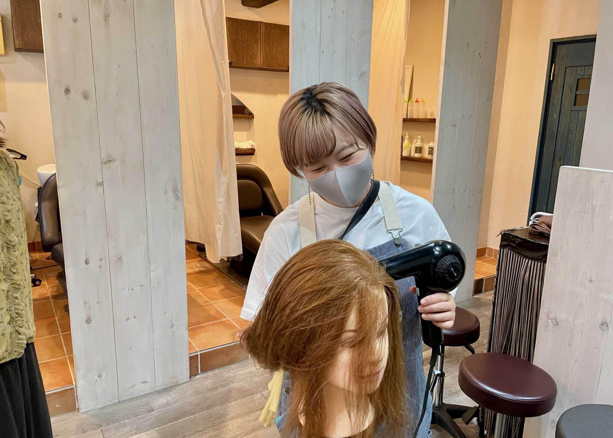 HAIR CALM 鹿島田店求人画像
