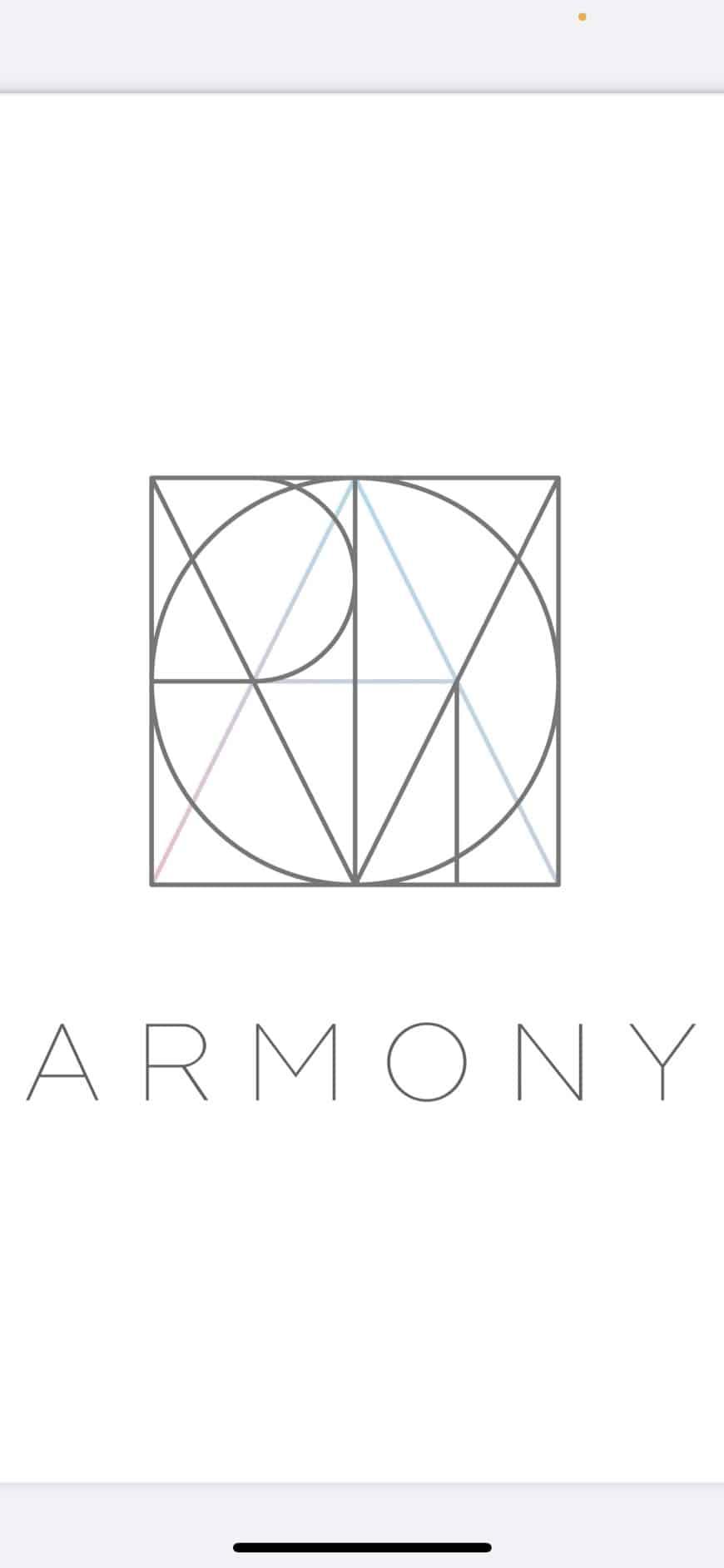 美容室ARMONYロゴ画像